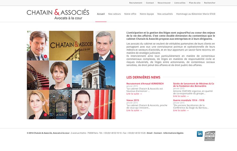Cabinet avocat Chatain & Associés