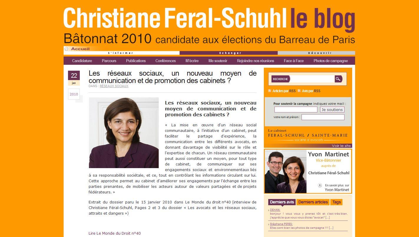 Campagne Batonnat 2010