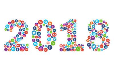 Top des chiffres réseaux sociaux 2018